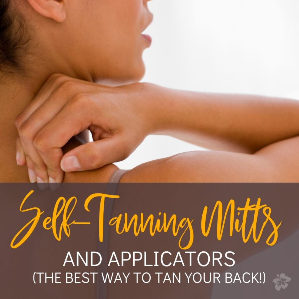 Tanning Mitts and Applicators for Self Tanners